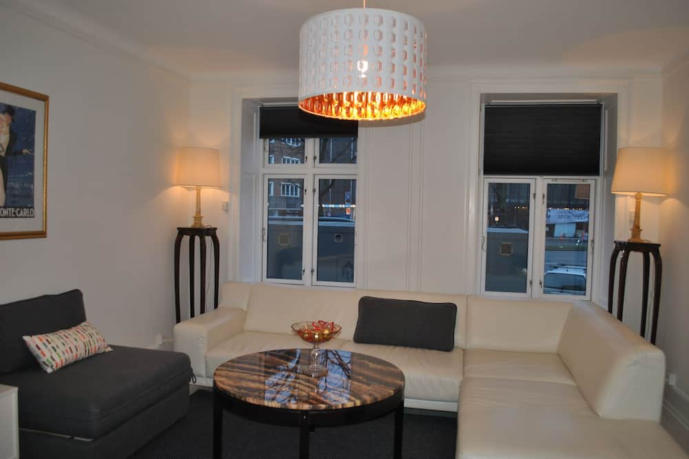 Comfort Apartment, 2 Bedrooms, Kitchen, City View - Living Room