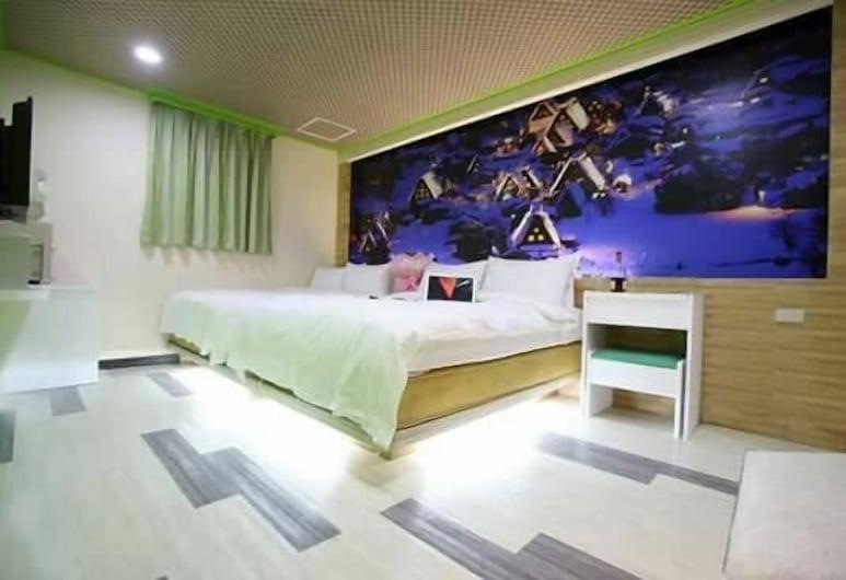 Clover House, Taoyuan City, Keturvietis kambarys, Svečių kambarys
