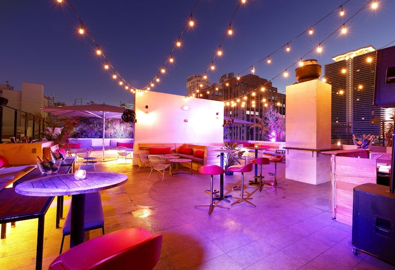 Eurostars Langford, Miami, Bar dell'hotel