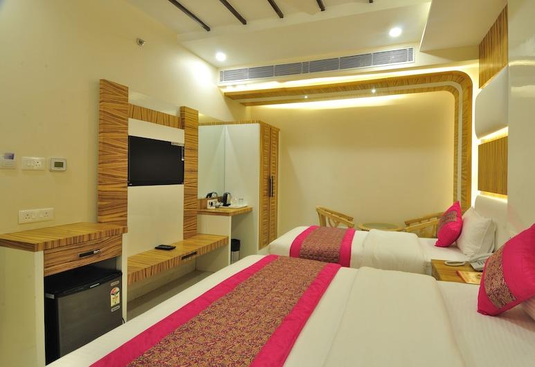 Hotel Aman Continental, New Delhi, Familiekamer, Kamer