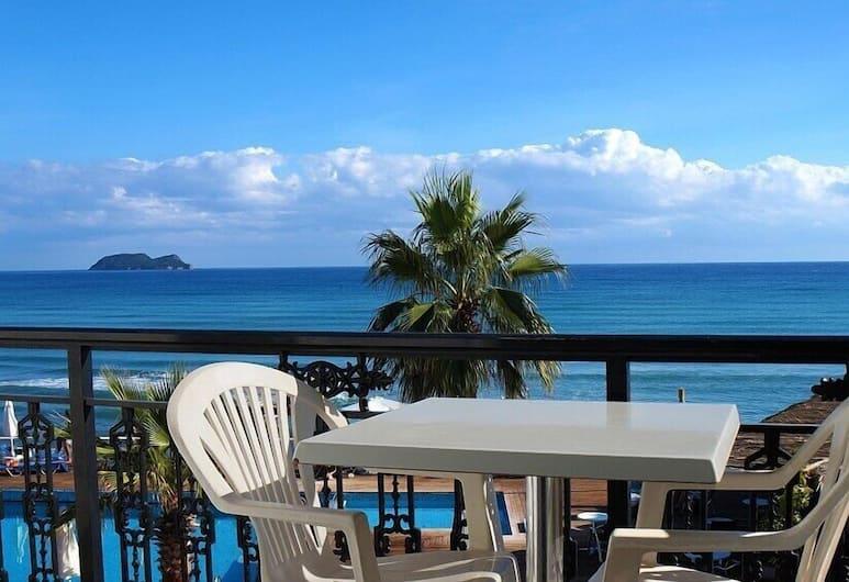 Crystal Beach Hotel, Zakynthos, Standard-Doppelzimmer, Meerblick, Balkon