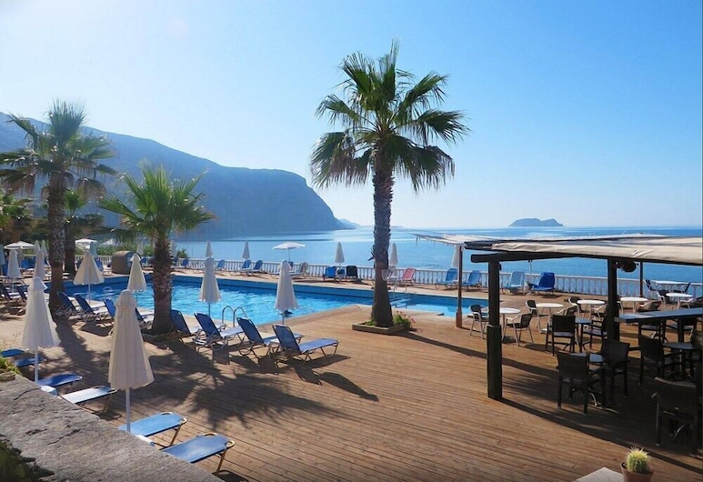 Crystal Beach Hotel, Ζάκυνθος, Εξωτερική πισίνα
