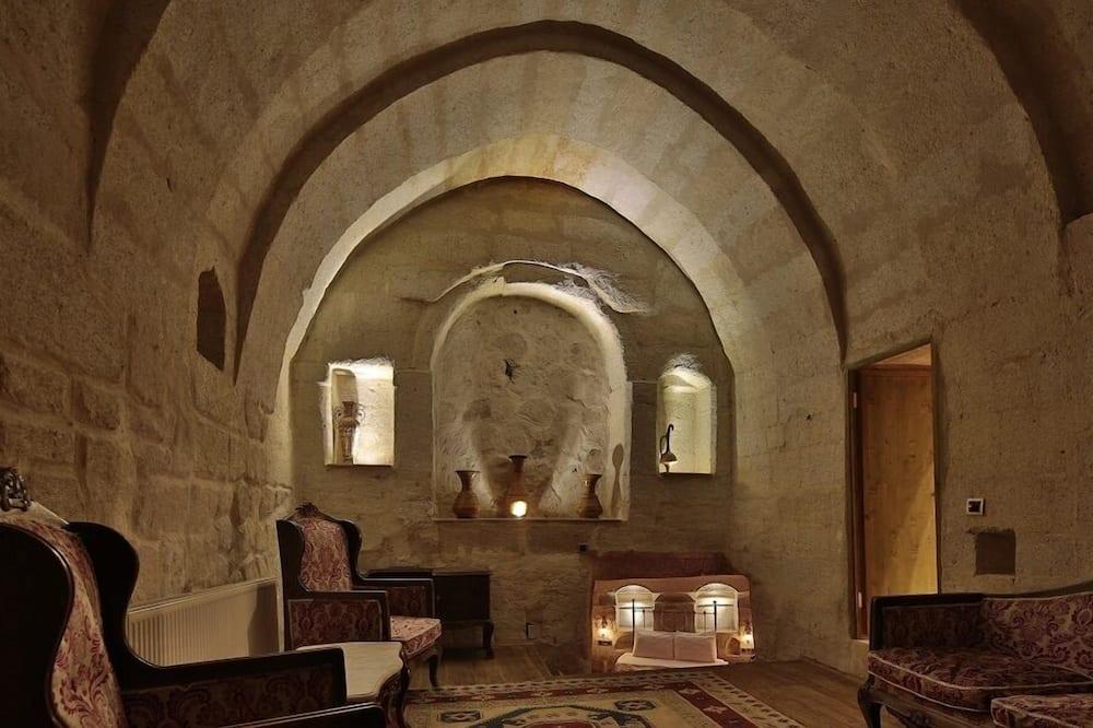 スーペリア スイート ジェットバス (Cave) - リビング エリア