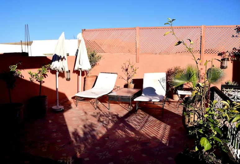 阿爾揚民宿, 馬拉喀什, 露台