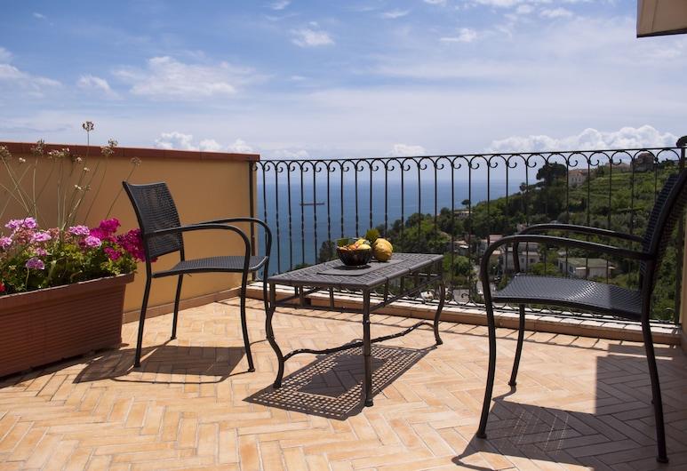 Residence Zelzar, Vietri sul Mare, Căn hộ Superior, 1 phòng ngủ, Quang cảnh biển, Sân thượng/sân hiên