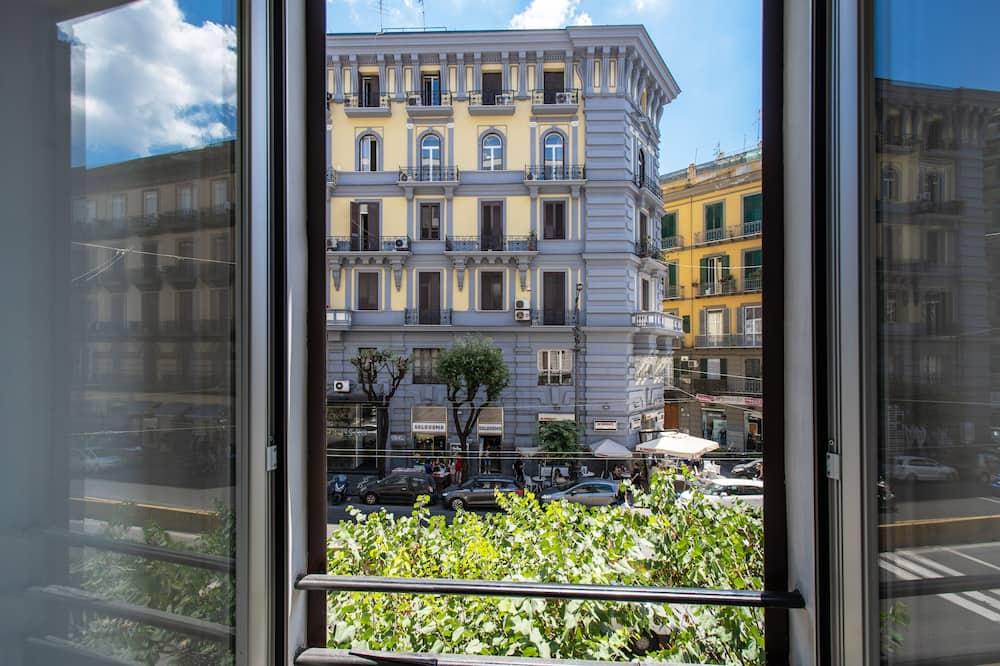 Habitación triple - Vista al balcón