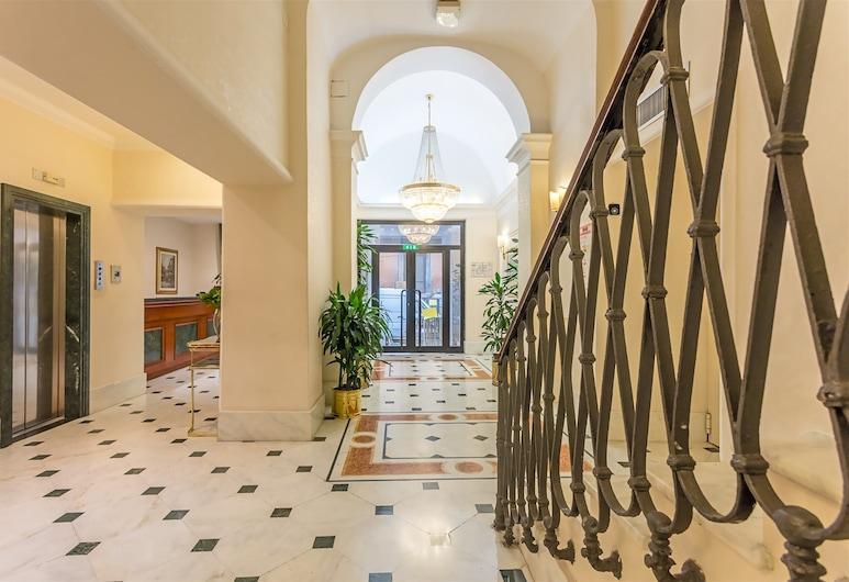 Raeli Hotel Floridia, Rome, Lobby