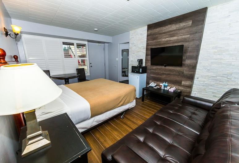 New Plaza Motel, Toronto, Premier-værelse - 1 queensize-seng - ikke-ryger, Værelse
