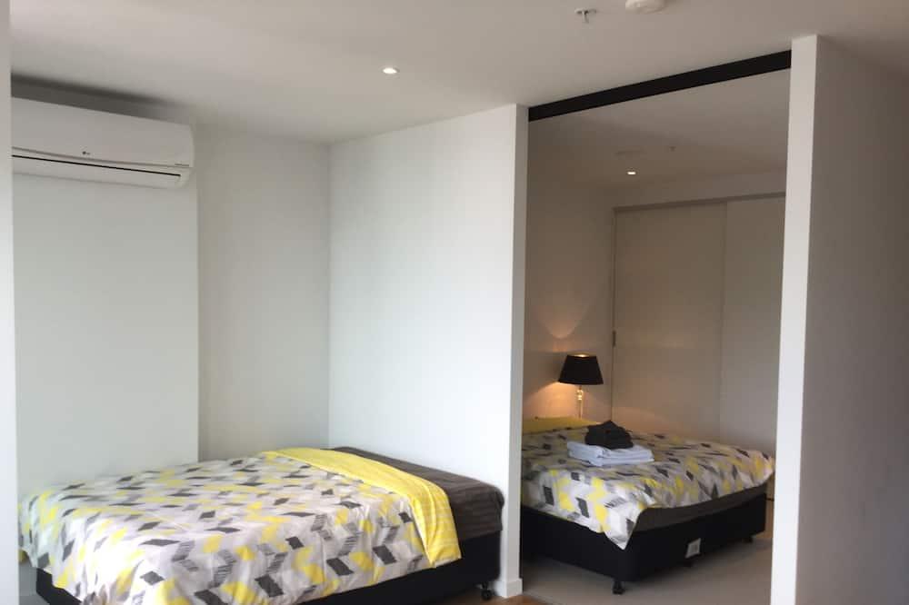 舒適公寓, 城市景, 高層 - 客廳