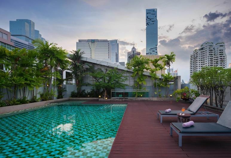 Silom Lofts Hotel, Bangkok, Zwembad op dak