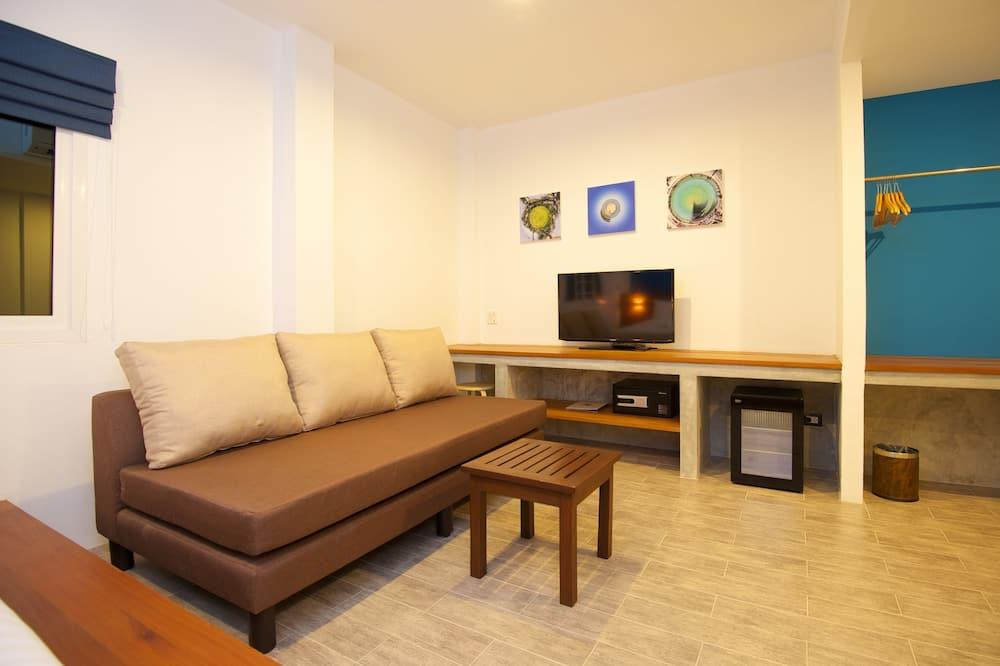 Superior-dobbeltværelse - Opholdsområde