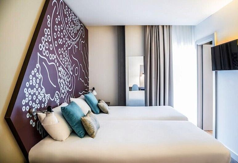 Ibis Styles Barcelona Centre Hotel, Barcelone, Chambre Standard, 2 lits une place, Chambre