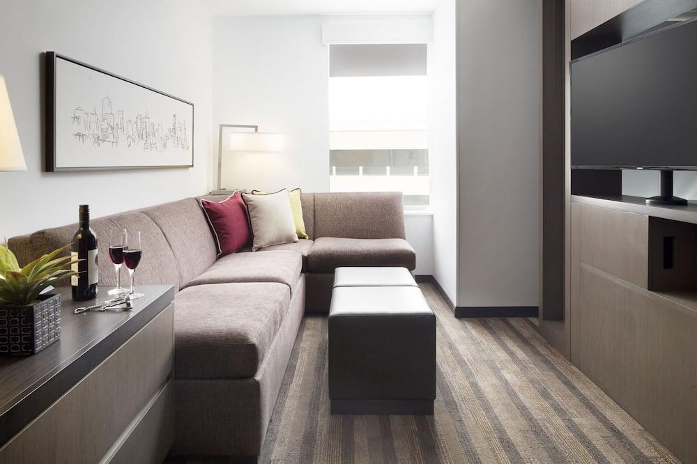 Studio suite, 1 kingsize bed - Woonruimte