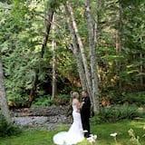Udendørs bryllupsområde