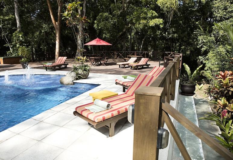 Hostal Jungle Lodge Tikal, Tikal National Park, Outdoor Pool