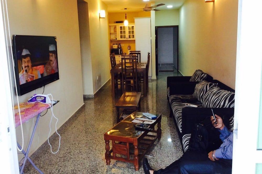 Căn hộ Cao cấp, 3 phòng ngủ - Khu phòng khách