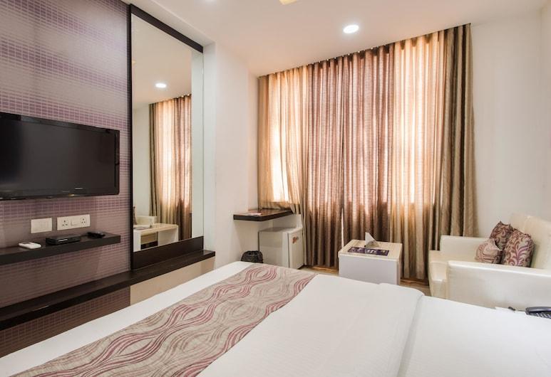 OYO 701 Hotel Rockland, Jaipur, Habitación estándar con 1 cama doble o 2 individuales, 1 cama doble, baño privado, Habitación