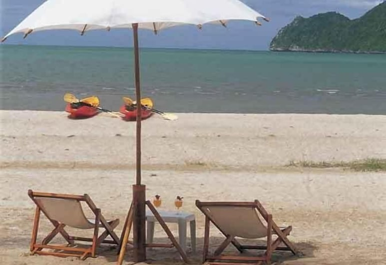 Samroiyod Holiday Resort, Sam Roi Yot, Пляж