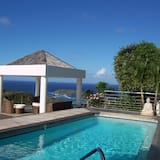 Romantic Κατάλυμα σε Αγροικία, 1 Υπνοδωμάτιο, Ιδιωτική Πισίνα, Θέα στη Θάλασσα - Αίθριο/βεράντα