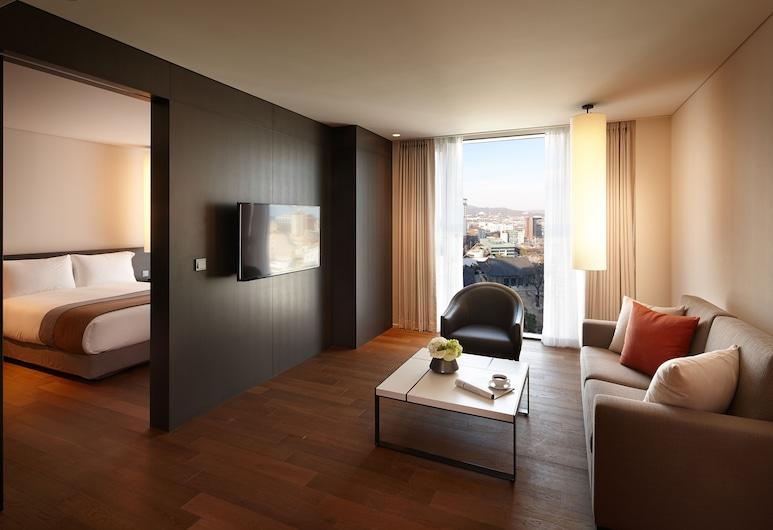 Shilla Stay Gwanghwamun, Seoul, Grand Deluxe Room, Hotel Interior