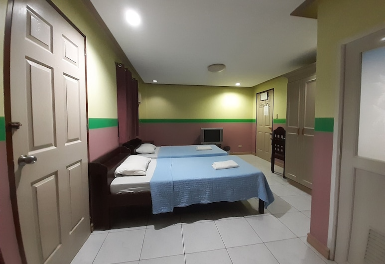 LP Hotel and Resto Bar, Puerto Princesa, Deluxe - kahden hengen huone, Vierashuone