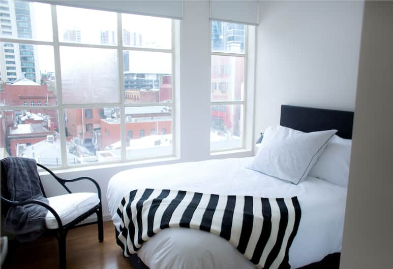The Town Apartments, Melbourne, One Bedroom Laneway Apartment, Room
