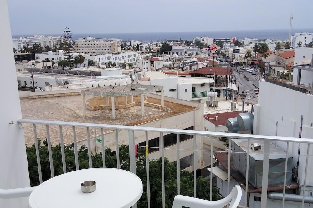 公寓, 2 張單人床, 海景 - 露台