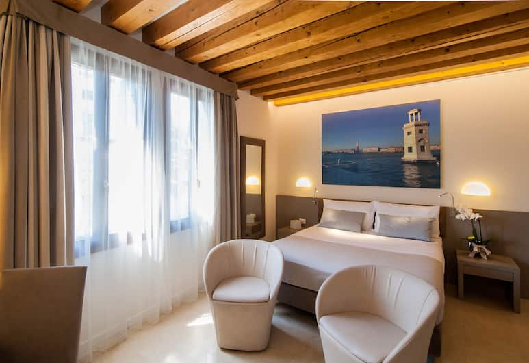 Hotel Filù, Venice, Superior Double Room, Guest Room
