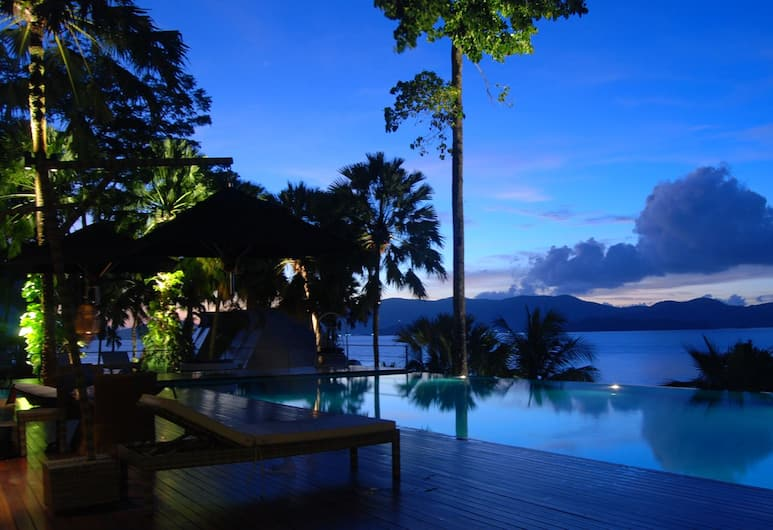 The Blue Sky Resort Ranong, Ranong, Infinity Pool