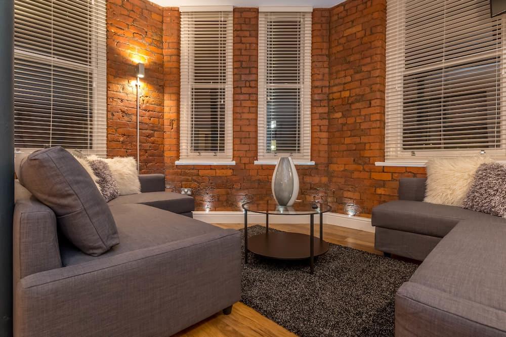 Standard apartman, 1 hálószobával (Eleska 4) - Nappali rész