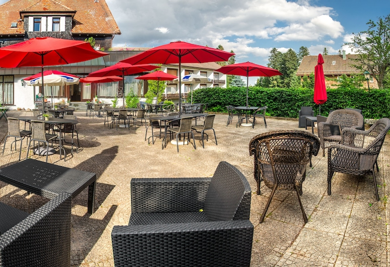 Hotel Hirsch, Freudenstadt, Terraza o patio