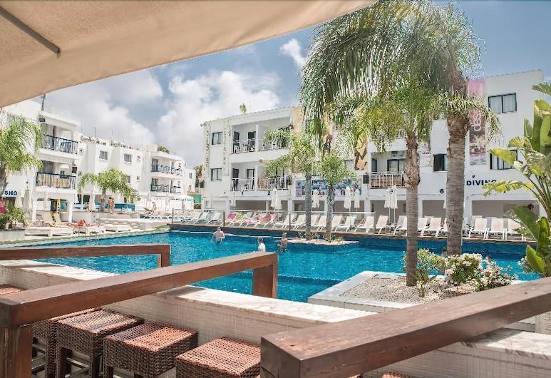 Tsokkos Holiday Hotel Apartments, Ayia Napa, Açık Yüzme Havuzu