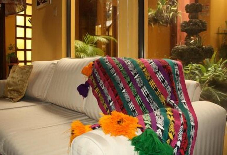 Bed & Breakfast Ajbe Turista, Bandar Raya Guatemala, Tempat Duduk di Lobi