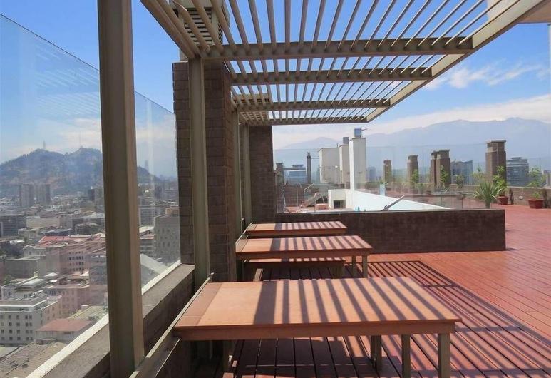 A&G Apart Hotel, Santiago, Terasa