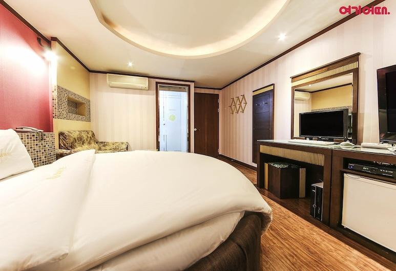 Hotel With, Incheon, Kamar Double Standar, Kamar Tamu