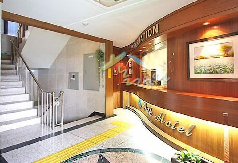 Hotel With, Incheon, Reception