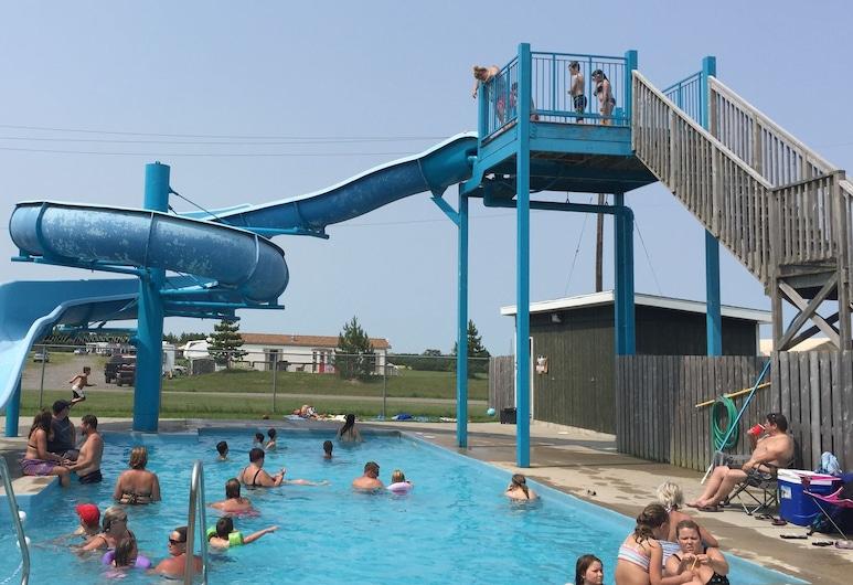 Maitland Shores Trailer Park & Marina, Dunnville, Waterslide