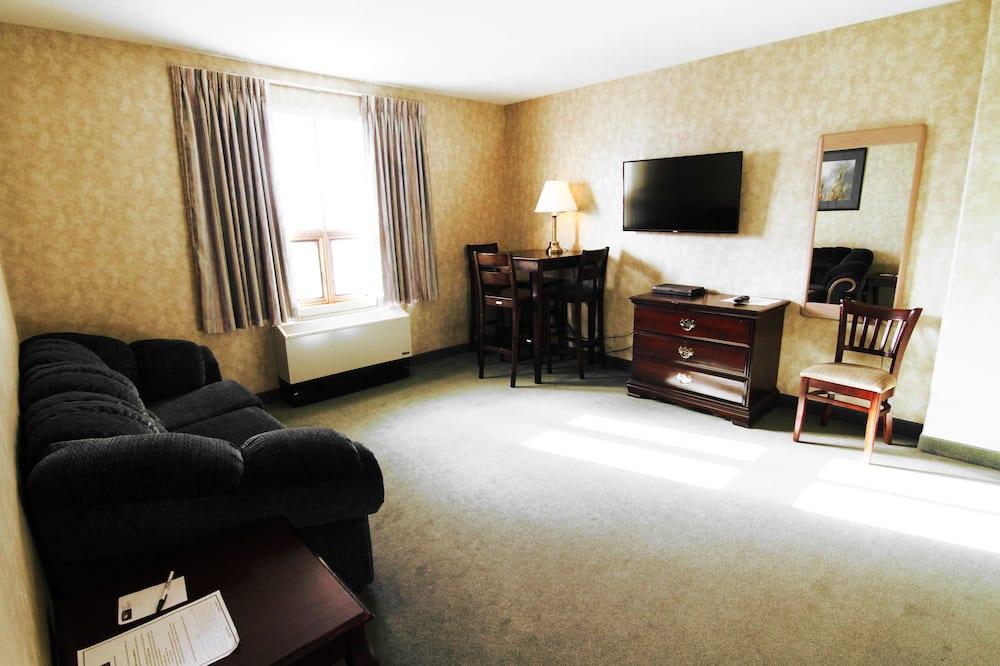 Suite, 1 habitación, cocina básica - Zona de estar