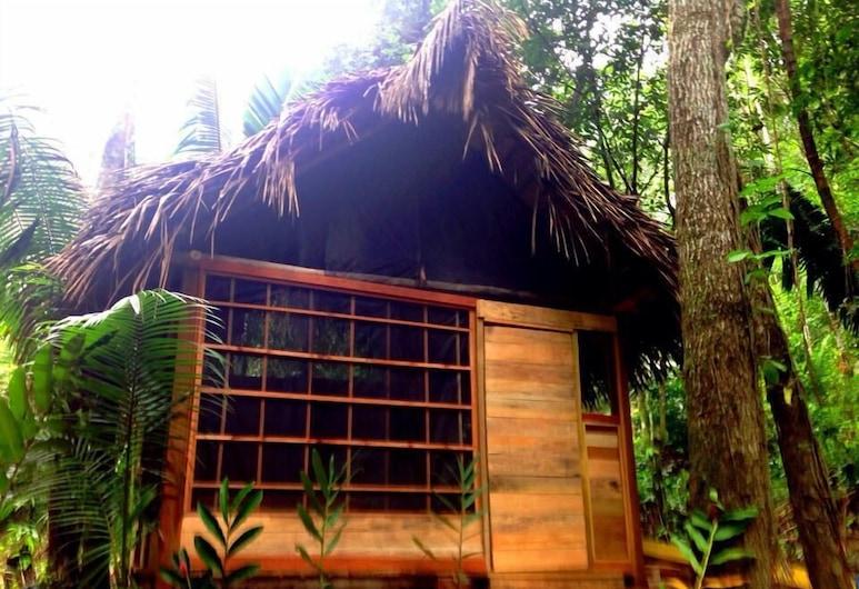Cacao Rainforest Lodge, Belmopana, Standarta vienvietīgs numurs, 1 divguļamā gulta, skats uz dārzu, Numurs