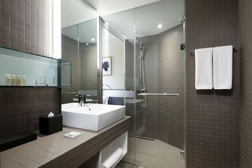 Standard Double room (Present your business card and get 1 free breakfast) - Bathroom
