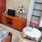 Familien-Vierbettzimmer, 2Queen-Betten, Stadtblick - Wohnbereich