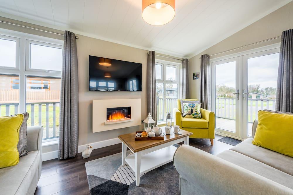 Luxusný apartmán, vlastná kúpeľňa (Sunny Banks Lodge) - Obývacie priestory