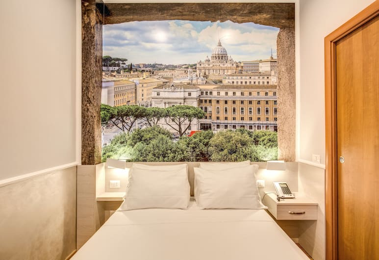 Top Floor Colosseo, Rome, Eenpersoonskamer, Kamer