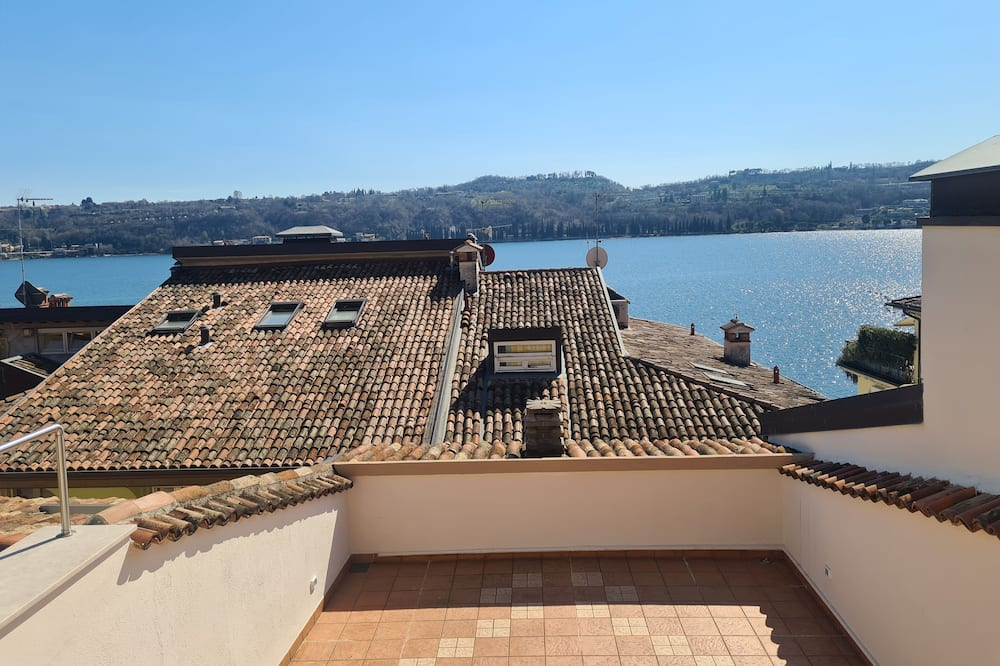 Panoramic Condo, 1 Double Bed, Terrace, Lake View (Mirto) - Terrace/Patio