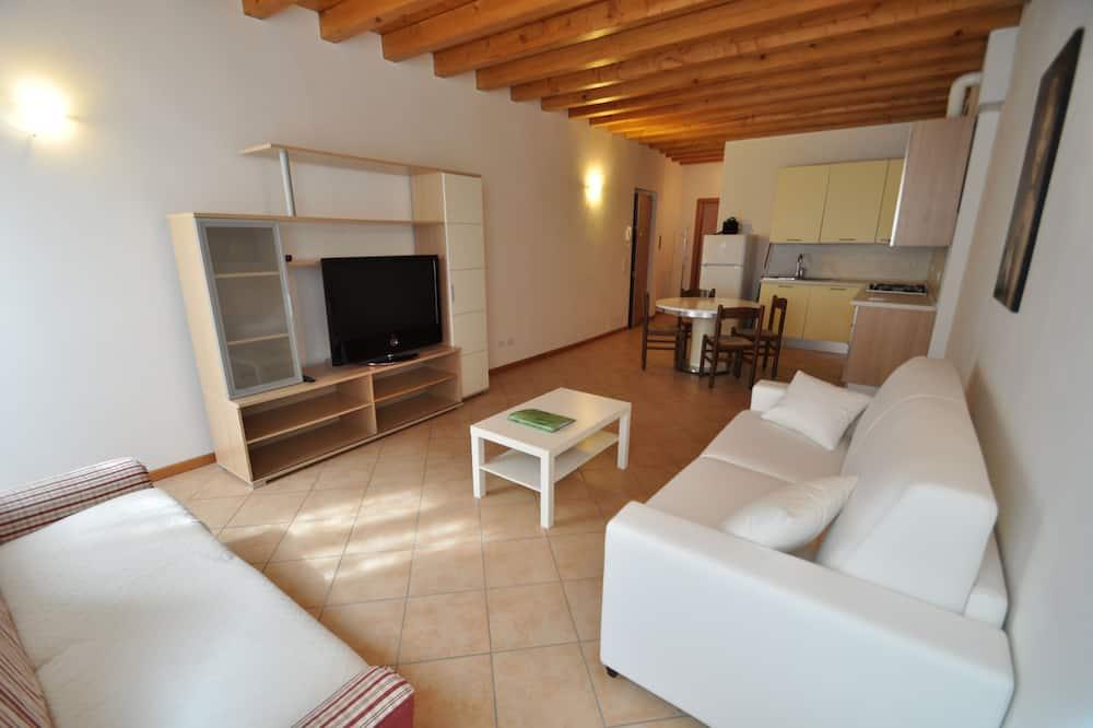 Apartment, 1 Bedroom, Annex Building (Mozart) - Living Room