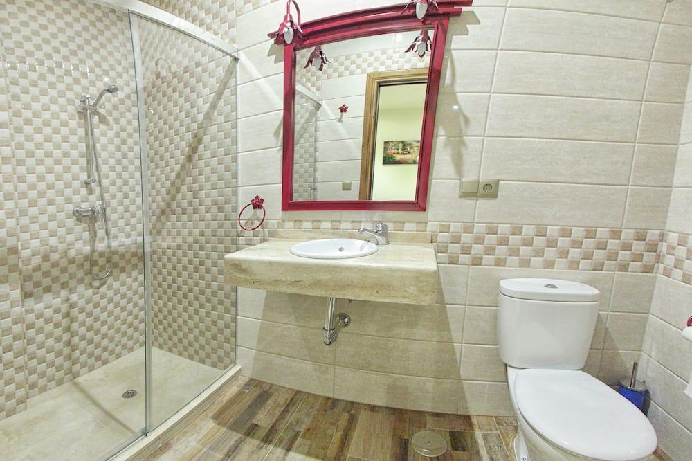 Zweibettzimmer (single use) - Badezimmer