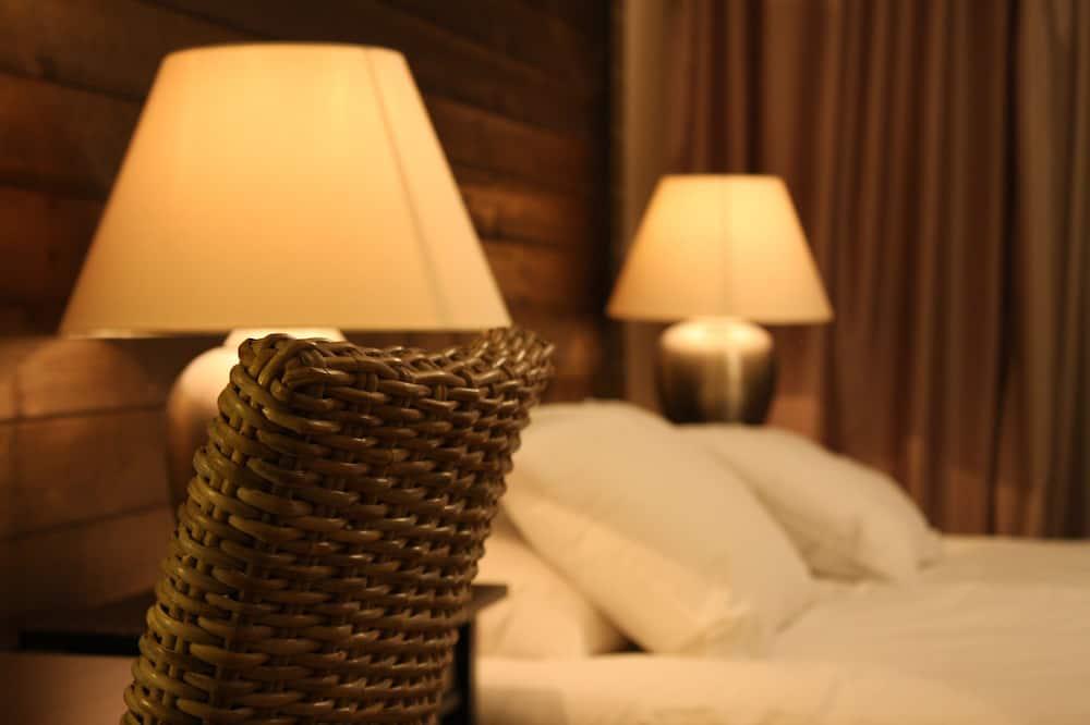 Habitación familiar, 1 cama Queen size con sofá cama, sin ventanas - Habitación