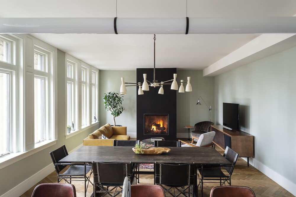 Three Bedroom Penthouse - Living Area