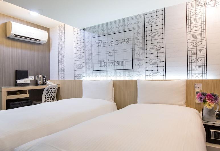 清翼居旅店 - 采風館, 台北市, 豪華無窗房, 客房