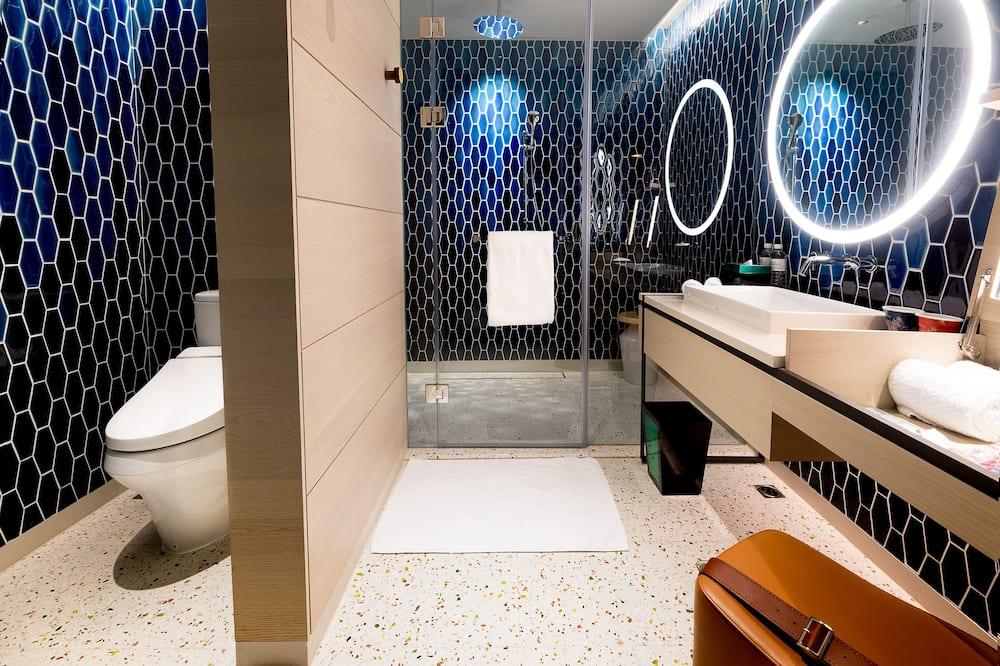 חדר דה-לוקס, 2 מיטות יחיד, ללא עישון - חדר רחצה